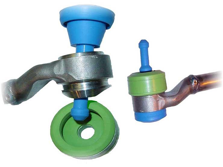 custom reusable silicone masking, silicone, masking, powder coat, wet spray, e-coat, plated parts