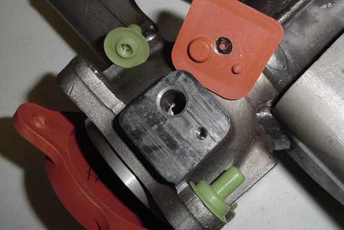 Axle component mask