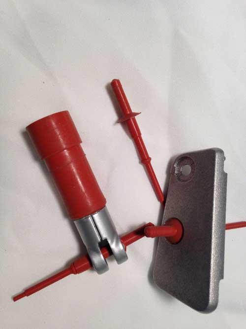 Small custom plug mask