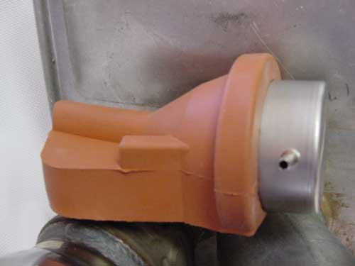 Muffler sensor