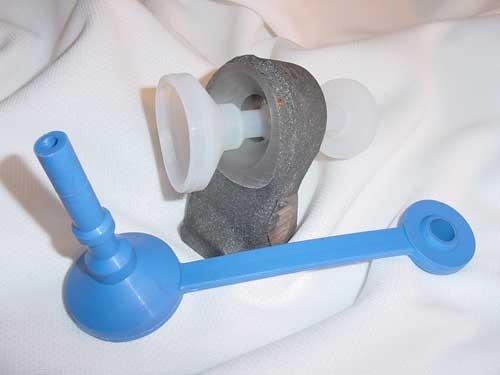 Tappered pull plug